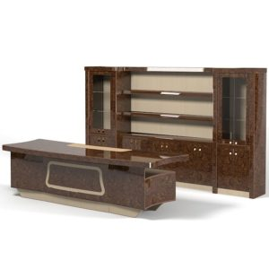 2.desk_bookcase_luxury office furniture_high officials (4)