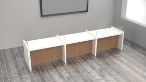5.Customer service desk_office furniture