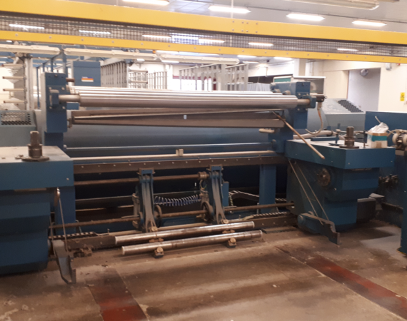 1.benmatic warping machine in the factory_used textile machinery project (6)