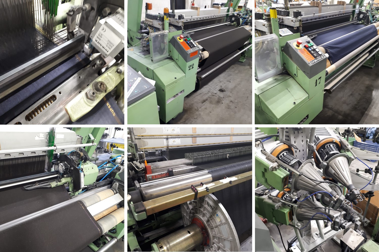 1.used airjet weaving looms dornier (2)