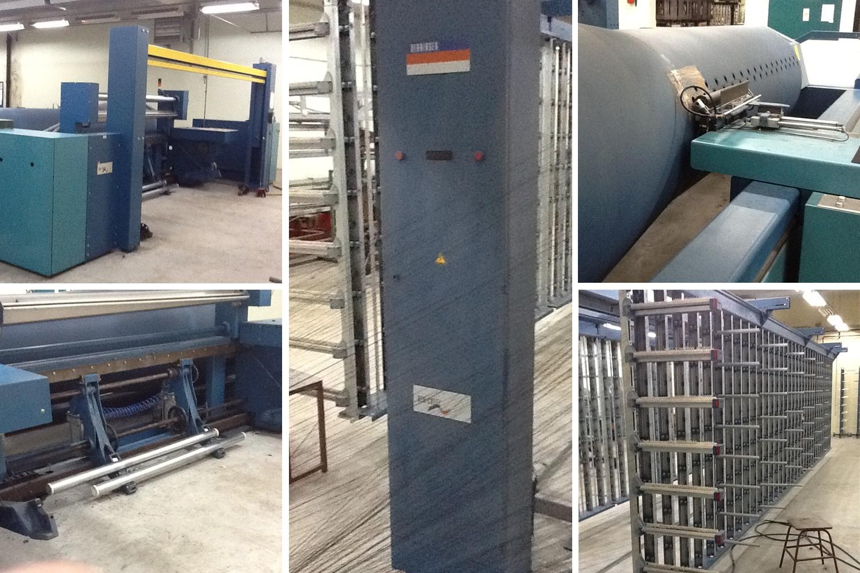 1.warping machine benninger - BENTRONIC and CREEL-yoc 2001 _textile plant