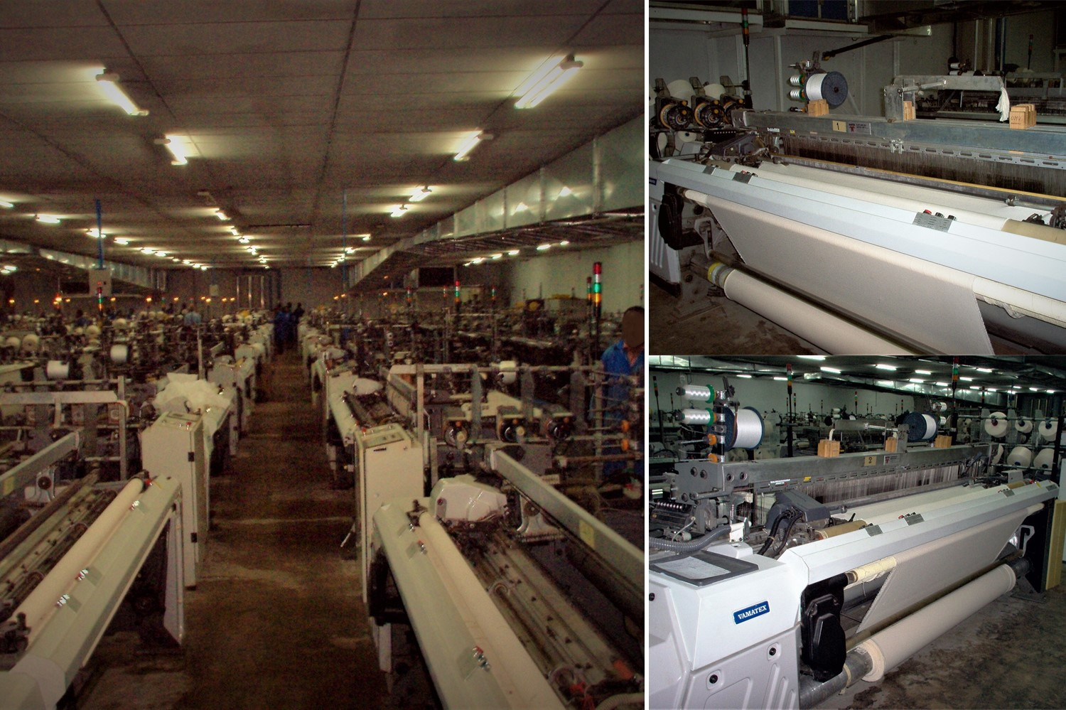 1.weaving looms_vamatex p1001es_reconditioning of exhisting textile plant