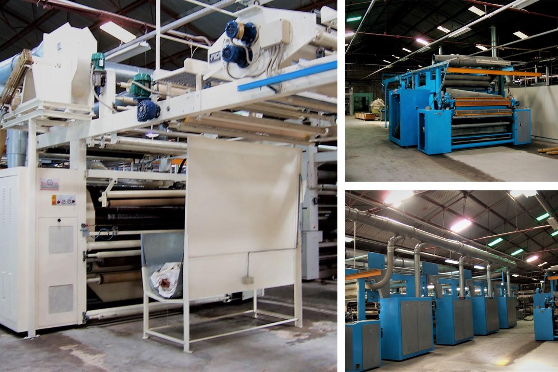 2.RAISING MACHINE_reconditioning of exhisting textile plant