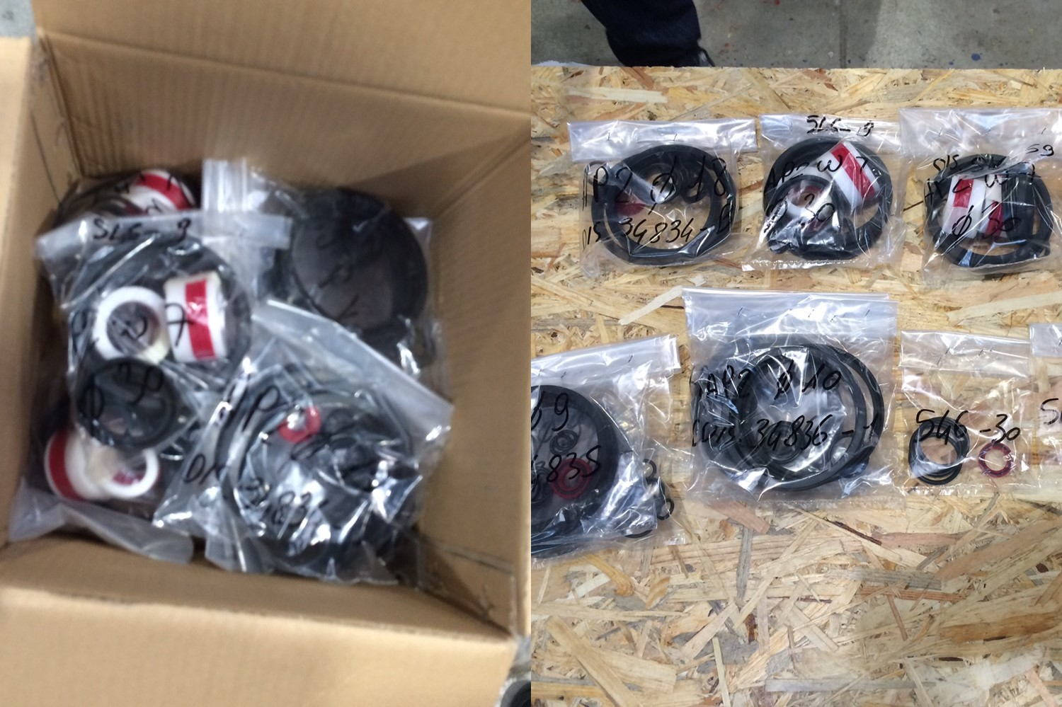 2.seals for valves_spare parts for chipwood plant