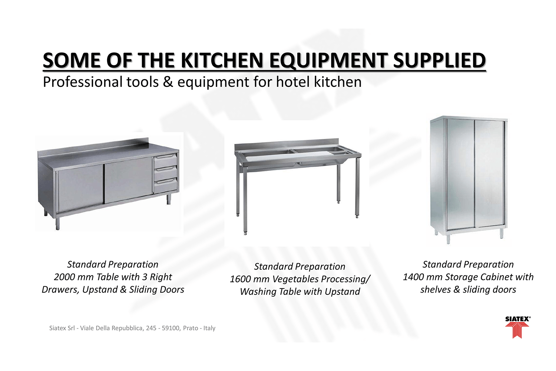 2e.standard preparation_kitchen equipment_hotel furniture_equipment project (3)