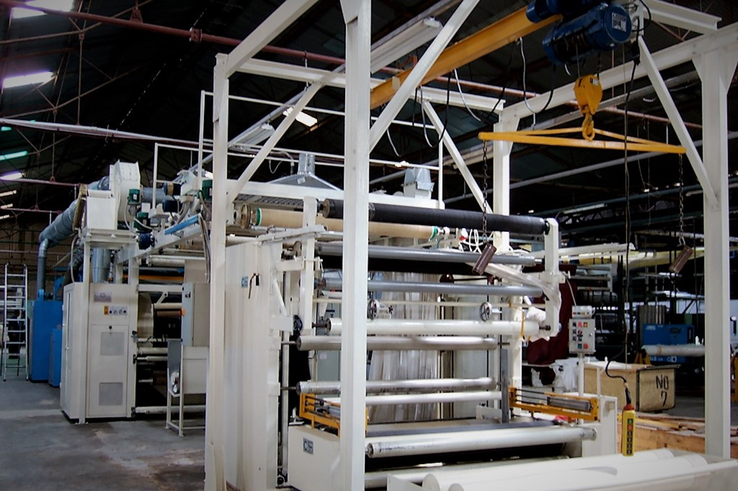 3.RAISED FABRIC QUALITY CONTROL _ PACKAGING_reconditioning of exhisting textile plant