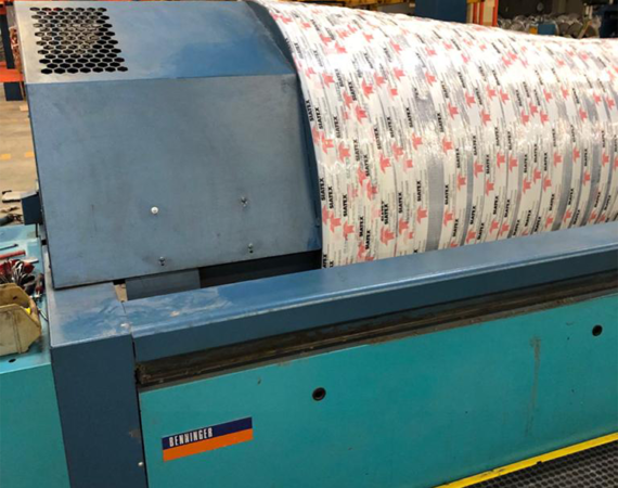 5.benmatic warping machine_preparation for shipment_used textile machinery project (15)