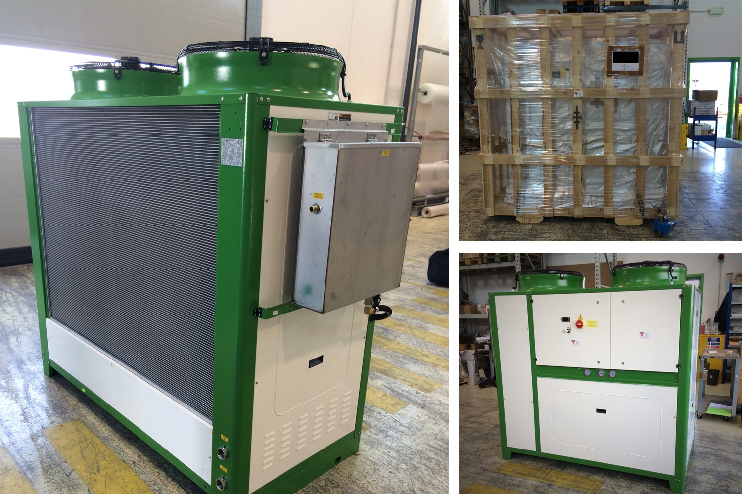 6.paking_shipment_Air cooled water chiller_CHIPWOOD PLANT