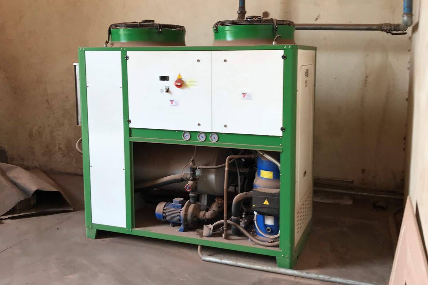 7.installation_Air cooled water chiller_CHIPWOOD PLANT