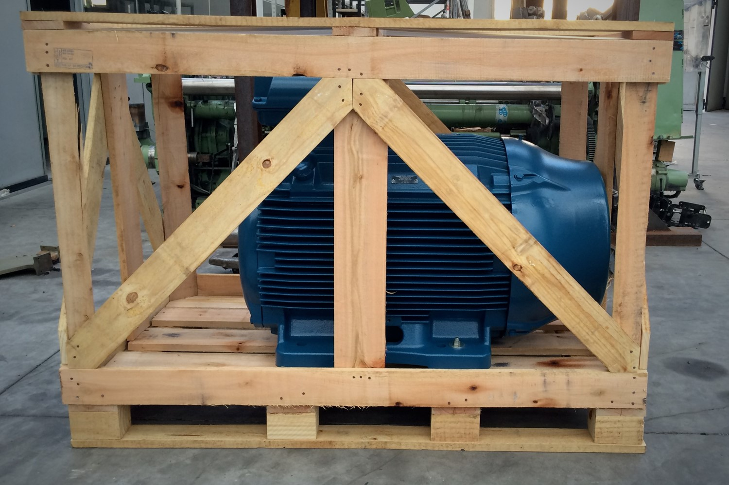 8.shipment_indutrial motor_CHIPWOOD PLANT