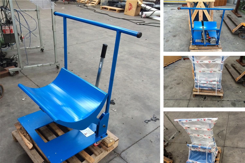 empty beam or cloth rolls lifting trolley sia-sc7_weaving mill (1)