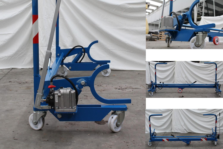 warp beams lifting trolley sia-geo1_weaving mill