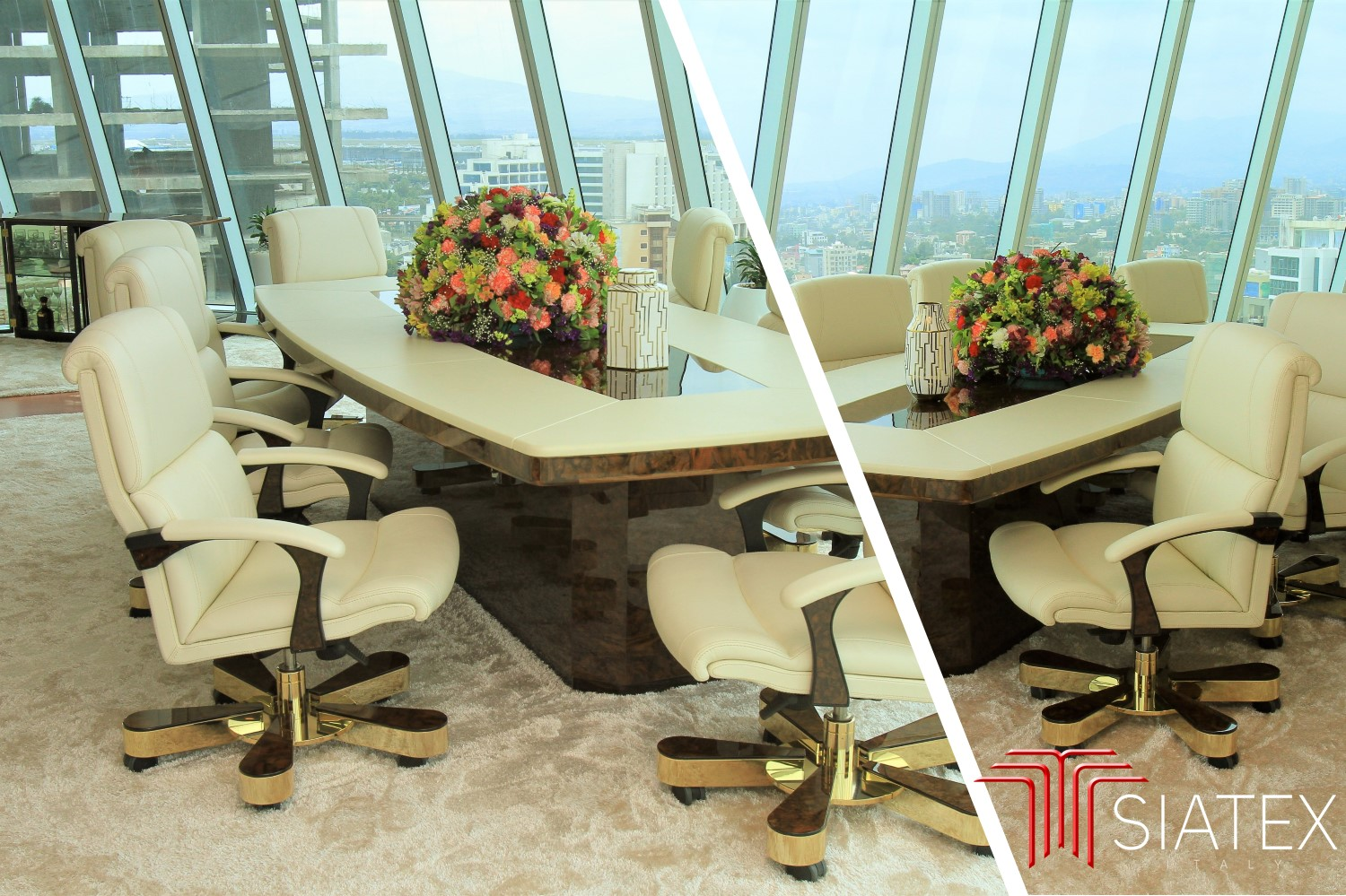 3.office furniture project_luxury ceo meeting table